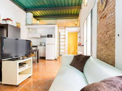 Photo for Stylish loft, literally 50meters from the beach