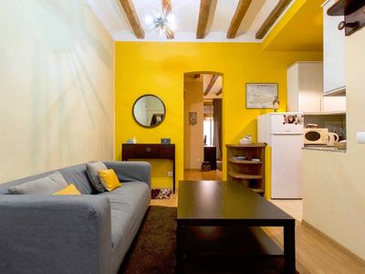 Photo for Charming Flat in Central BCN