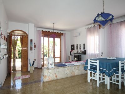 Photo for Three-bedroom villa with sea view