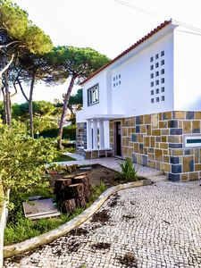 Photo for Pine forest family villa pool Colares, Sintra near beach