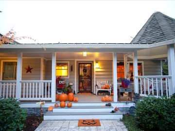 Welcome to your Portland vacation home! Fully covered front porch! TONS of charm...
