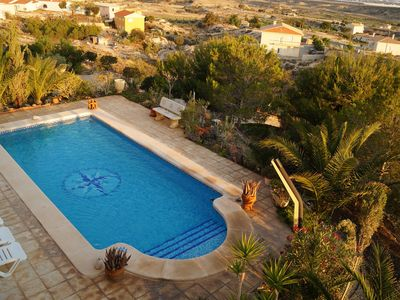 Photo for Beautiful and spacious villa with sea view and private pool.