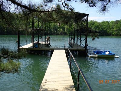 Photo for Luxury House on Lake Lanier with dock