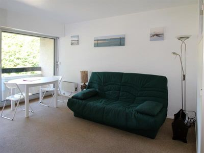 Photo for Studio with pool, in a quiet residence, close to the beach