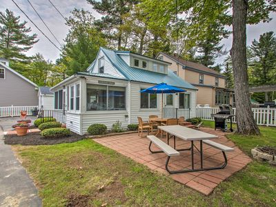 Photo for NEW! Sebago Lake Cottage w/ Patio + Beach Access!