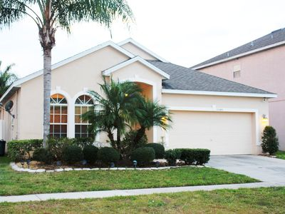 Photo for 4-BR Home Close to Disney & Universal Studios Parks with Heated Pool Included