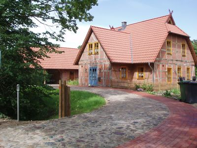 Photo for Cosy half-timbered house, very quiet, well equipped, plenty of space