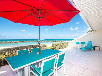 Photo for Experience the turquoise blue Caribbean waters up close and personal from this Oceanfront unit!