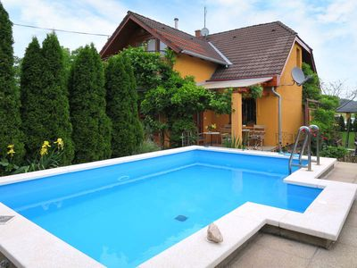 Photo for Vacation home Magyar  in Balatonfüred/Lovas, Balatón - 10 persons, 4 bedrooms