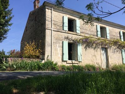Photo for Renovated farmhouse on the edge of Sèvre