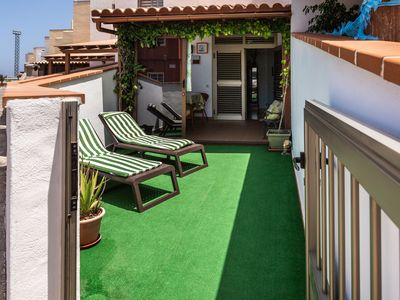 Photo for Cosy Apartment El Carmen close to the Beach with Wi-Fi & Terrace; Parking Available