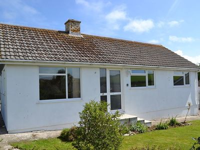 Photo for Family and pet friendly bungalow with garden in pretty Cornish fishing village