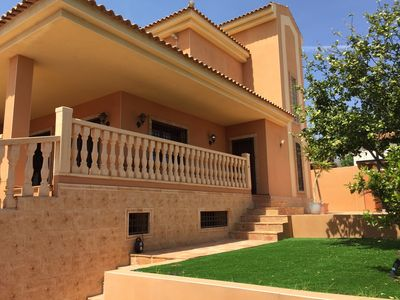 Photo for New family Villa with private solar heated pool