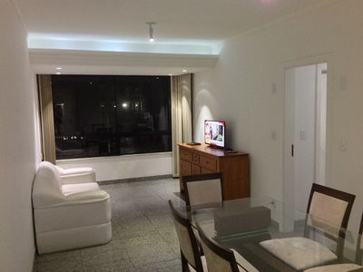 Photo for 400 meters from Praia do Forte, apartment 2 bedrooms 1 suite, netflix and W-FI *