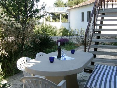 Photo for 2BR Apartment Vacation Rental in Splitska, Dalmatien