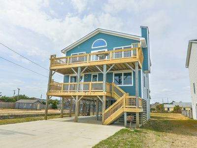 Photo for Waves of Valhalla | Nags Head | Semi-Oceanfront | 4 Bedrooms | Sleeps 8