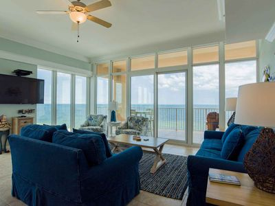Photo for Beachfront Condo in Gulf Shores! Private Balcony Overlooking the Beach. Beach Views from Almost Every Room! Book Today