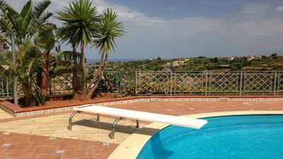 Photo for Villa DREAM panoramic view with private pool