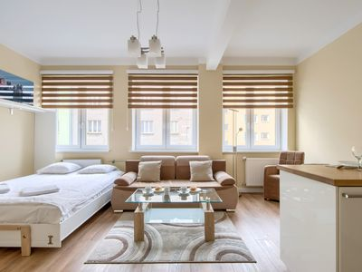 Photo for Studio Tamka - large studio close to the Old Town | YesApartments