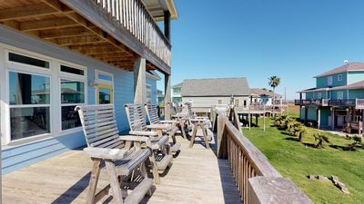 Photo for Beautiful high end 4 bedroom beach property - magnificent views, private master - Dip Net