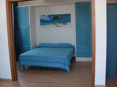 Photo for apartment overlooking the sea in front of the Aeolian islands