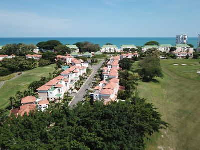 Photo for Gorgeous garden apartment at Decameron Resort with Beach Club access