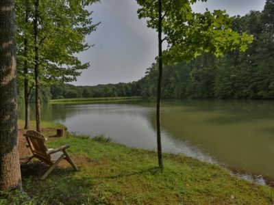 Photo for Lazy Lake..Perfect For Couple 1 Bedroom Waterfront Cabin In North Georgiales
