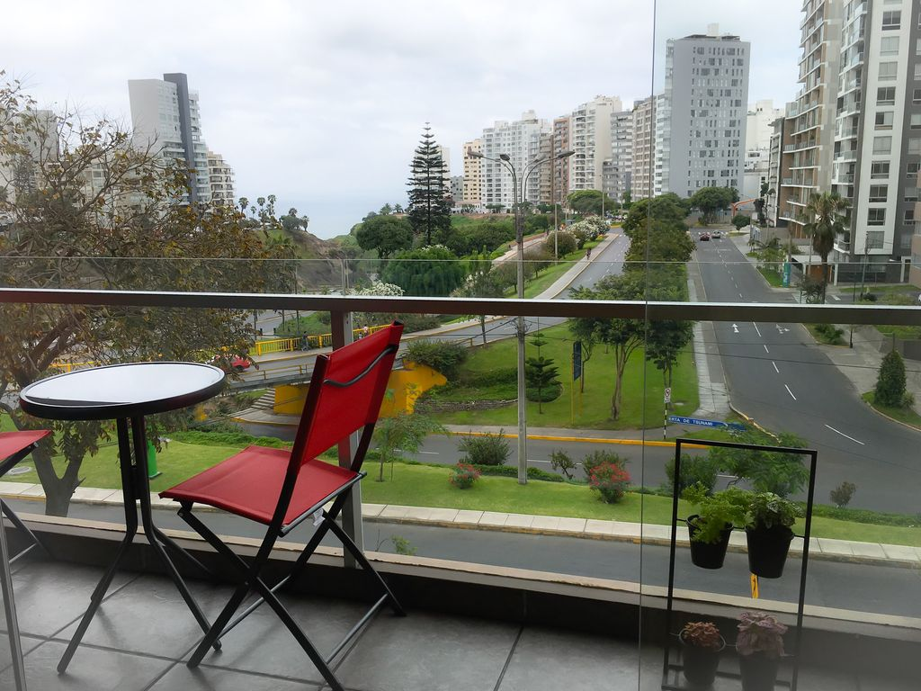 Lima Panoramic View In Miraflores