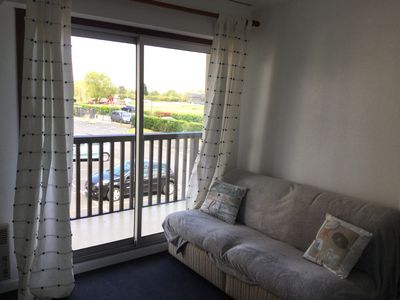 Photo for beautiful sunny apartment 2 rooms near beach and swamp villers