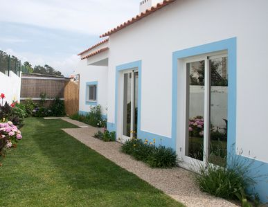 Photo for Magnificent villa with garden next to the beach