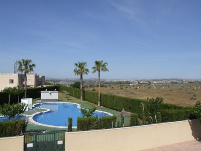 Photo for THIS ATTRACTIVE,HOLIDAY APARTMENT WITH LARGE  ROOF TOP TERRACE  NEXT TO SALT