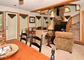The Bear House is the coziest of Mountain Vacations with tons of amenities!
