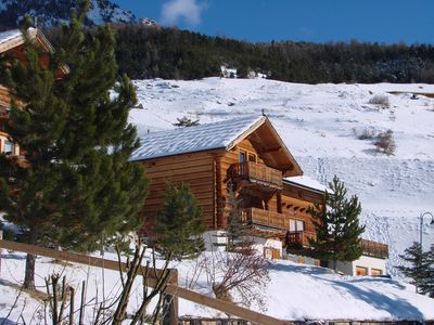 Photo for Chalet with exceptional panorama, sleeps 12, Vars Sainte-Catherine