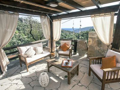 Photo for traditional villa with an astonishing view