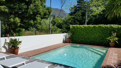 Photo for Lovely Villa with private Pool & Mountain view & near to Vineyards of Constantia
