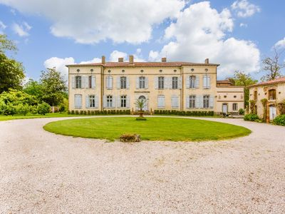 Photo for 10 bedroom Chateau, sleeps 17 with Pool and FREE WiFi