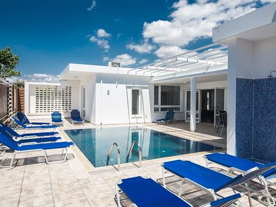 Photo for Villa Mavris - Lovely 4 Bedroom Villa with Private Pool in Central Ayia Napa