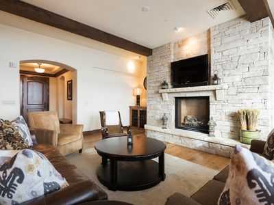 Photo for Ski-in, ski-out Empire Pass condo with sweeping views, hot tub access and complimentary shuttle