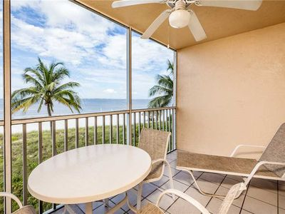 Photo for Estero Island Beach Villas 203, 2 BR, Gulf Front, Heated Pool, Sleeps 8