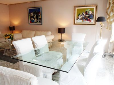 Photo for Central Cannes - 99 rue d'Antibes, Luxury Apartment, Two Bedrooms, Two Bathrooms