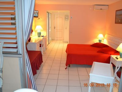 Photo for Apartment on the Beach, Sea view in Reassured Residence, direct access Beach.