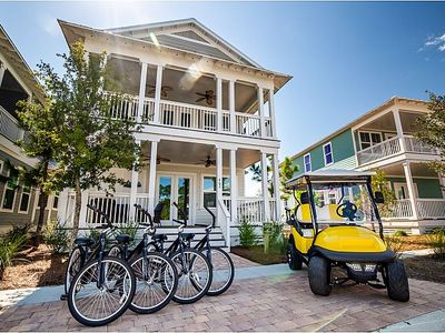 4 Bikes! 2 King Master Bedrooms! Pools, Beach, Screen Balcony! - Sail Away at NatureWalk