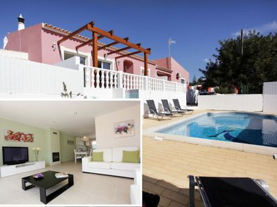 Photo for Newly redesigned, modern a/c villa in Vale de Parra, within walk of restaurants