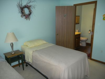 Photo for SEPT.  RATE SPECIAL Bedroom with private bath and Shower
