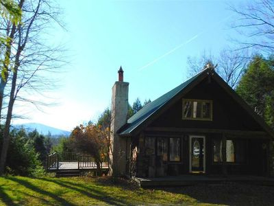 Photo for 10 min from Stratton! Log Cabin w/ Beautiful Views