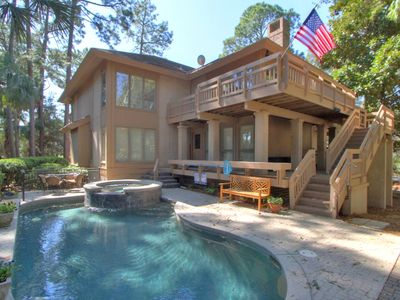 Photo for NOT AVAILABLE AFTER 10/9/19. WILL GO OFF VRBO IN 2020. Sea Pines 2nd Rw
