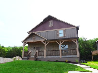 Photo for Brand New Home! 6 bedrooms all with King beds Sleeps 16! close to Lake