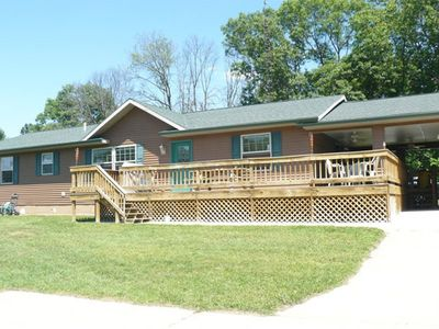 Photo for Arrowhead Trails 5 bedrooms   3 bathrooms  Sleeps 14  Pets Welcome Quiet spacious, hiking trails,lar