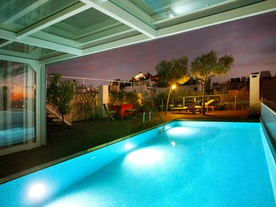 Photo for Penthouse/Heated Pool/for Large Groups/AcropolisView/Ideal Location/Host Present