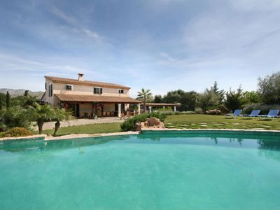 Photo for Luxurious country house with pool and capacity for 12 people 3 km from the beach